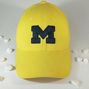 EUC University of Michigan Yellow Baseball Hat